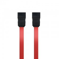 Cable sata nanocable 10.18.0101-oem - velocidad hasta 3gbp/s - 0.5m - rojo - oem