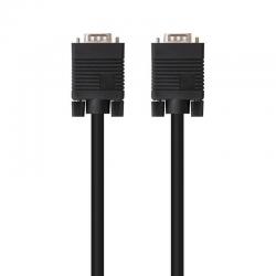 Cable svga nanocable 10.15.1303/ vga macho - vga macho/ 3m/ negro
