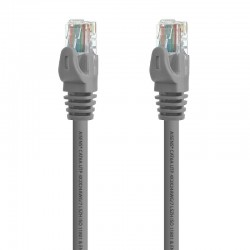 Cable de red rj45 utp aisens a145-0328 cat.6a/ gris