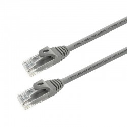 Cable de red rj45 utp aisens a145-0331 cat.6a/ 15m/ gris