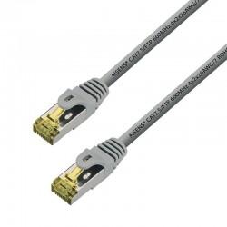 Cable de red rj45 s/ftp aisens 146-0332 cat.7/ 25cm/ gris