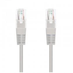 Cable de red rj45 utp nanocable 10.20.0100-l30 cat.5e/ 30cm/ gris