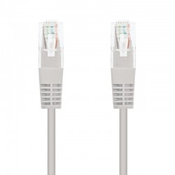 Cable de red rj45 utp nanocable 10.20.0120 cat.5e/ 20m/ gris