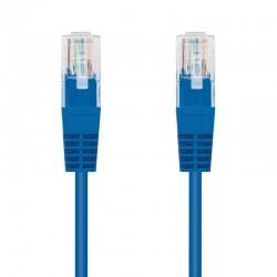 Cable de red rj45 utp nanocable 10.20.0400-bl cat.6/ 50cm/ azul