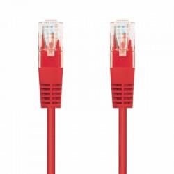 Cable de red rj45 utp nanocable 10.20.0400-r cat.6/ 50cm/ rojo