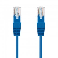 Cable de red rj45 utp nanocable 10.20.0403-bl cat.6/ 3m/ azul