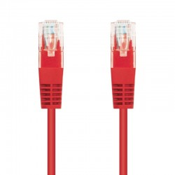Cable de red rj45 utp nanocable 10.20.0403-r cat.6/ 3m/ rojo