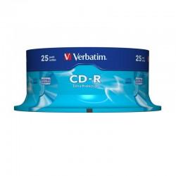 Cd-r verbatim datalife 52x/ tarrina-25uds