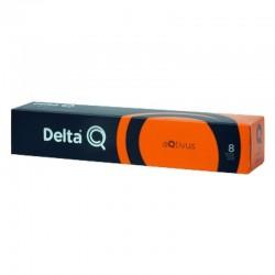 Cápsula delta aqtivus para cafeteras delta/ caja de 10