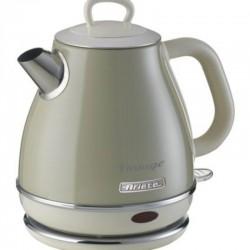 Hervidor de agua ariete vintage beige 2868/03 - 2000w - 1l - boquilla de precisión - filtro metal no extraible - recogecable -