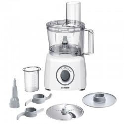 Procesador alimentos bosch multitalent3 - 800w - jarra 2.3l - 2 cuchillas - 1 disco de corte - disco batidor - mas de 20