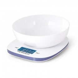 Báscula de cocina orbegozo pc 1014/ hasta 5kg/ blanca