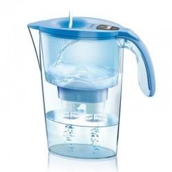 Jarra filtrante laica stream line color edition azul j31-ad - capacidad 2.3l - filtro desmontable con indicador