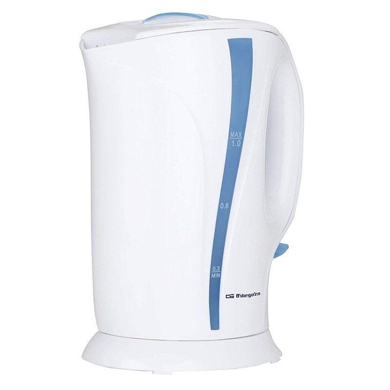 Hervidor de agua orbegozo kt 5002/ 900w/ capacidad 1l