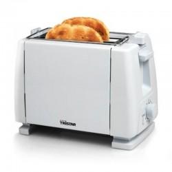 Tostador de pan tristar br 1009 - 650w - 2 ranuras - 6 funciones - desconexion automatica - recogecables - patas antideslizantes