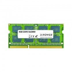 Memoria ram 2-power multispeed 8gb/ ddr3l/ 1066/ 1333/ 1600 mhz/ 1.35v/ cl7/9/11/ sodimm