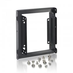 Adaptador metálico aisens a129-0150 para bahía de 3.5'/8.89cm - permite instalar 2 discos 2.5'/6.35cm