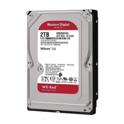 Disco duro interno western digital caviar red 2tb - sata iii - 3.5' / 8.89cm  - 5400rpm