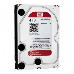 Disco duro interno western digital wd40efax nas red - 4tb - sata iii - 3.5'/ 8.89cm - bufer 256mb