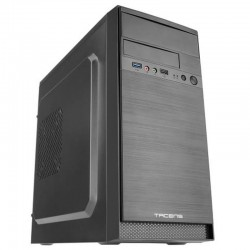 Caja minitorre tacens anima ac4500 - fuente 500w - 1*usb 3.0 / 1*usb2.0 - admite vga max 310mm - frontal aluminio pulido