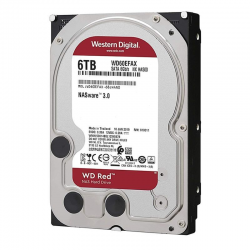 Disco duro interno western digital nas red wd60efax - 6tb - sata iii - 3.5'/ 8.89cm - 256mb
