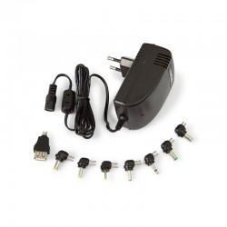 Cargador de pared 2820e 5-24v 2.8a 36w conectores intercambiables compatible tablets hannspree