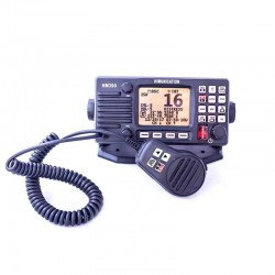 Radio vhf fija hm390 con nmea0183 y dsc