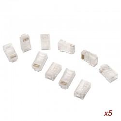 Conector rj45 aisens a138-0291/ cat.5e/ 50 uds