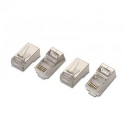 Conector rj45 aisens a139-0298/ cat 6/ 10 uds