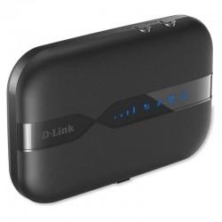 Router 4g d-link dwr-932 - wifi b/g/n / lte - 150mbps - ranura mini-sim - firewall - 2xantenas internas - microusb - batería