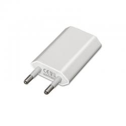 Cargador de pared nanocable 10.10.2001 - 1xusb - 5v / 1a / 5w (max) - compatible ipod / iphone - blanco