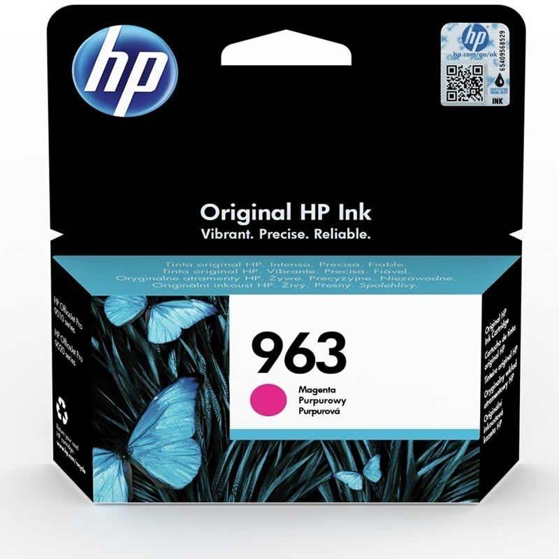 Cartucho de tinta original hp nº963/ magenta