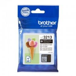 Cartucho de tinta negra brother lc3213 - 400 pag aprox. - compatible según especificaciones