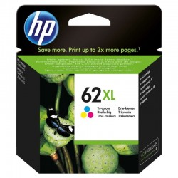 Cartucho de tinta color hp nº62xl - 415 páginas - para envy 5640 / envy 7640 / officejet 5740