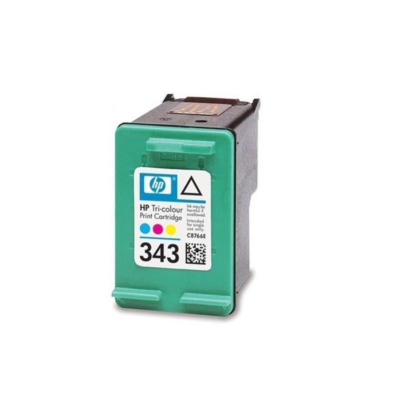 Cartucho de tinta color hp nº343 5740/hp-ofi 1510 7 ml dj 6940/9800/serie 460 ps-b8350/d5160/8750