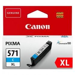 Cartucho de tinta cian canon cli-571xl - 11ml - compatible según especificaciones
