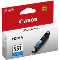 Cartucho de tinta cian canon cli-551c - 7ml - compatible segun especificaciones