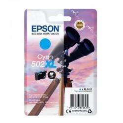 Cartucho tinta epson 502xl - cian (6.4ml) - binoculares