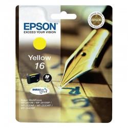 Cartucho tinta amarillo epson durabrite ultra 16 - 3.1ml - pluma y crucigrama - compatible segun especificaciones