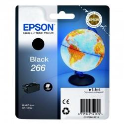 Cartucho negro epson 266 - 5.8ml - compatible con wf-100w - globo terráqueo
