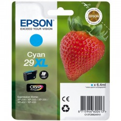 Cartucho cian epson 29xl  claria home - 6.4ml - fresa