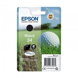 Cartucho tinta negro epson t3461 34 - 6.1ml - durabrite - bola de golf