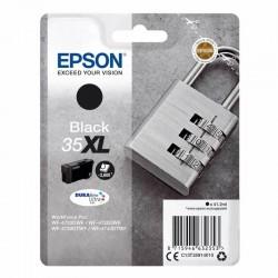 Cartucho tinta negro epson 35xl - 41.2ml - candado - compatible según especificaciones
