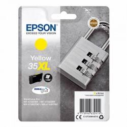 Cartucho tinta amarillo epson 35xl - 20.3ml - candado - compatible según especificaciones