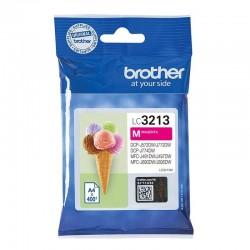 Cartucho de tinta magenta brother lc3213m - hasta 400pag - compatible según especificaciones
