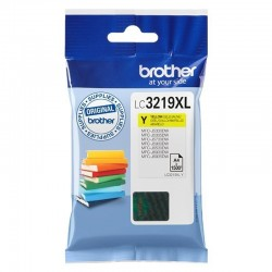 Cartucho de tinta amarillo brother lc3219xly - hasta 1500pag - compatible según especificaciones