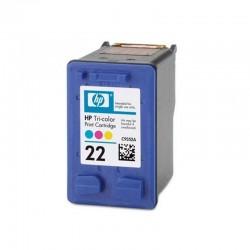 Cartucho color hp nº22 para psc 1410/d2460/f380/4315/f2280