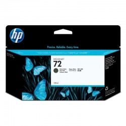 Cartucho negro mate hp nº72 130ml para designjet t1100/t1100ps/t610