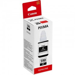 Botella tinta negra canon gi-590 - 135ml - compatible según especificaciones