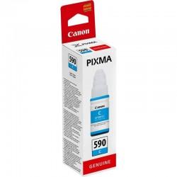 Botella tinta cian canon gi-590 - 70ml - compatible según especificaciones